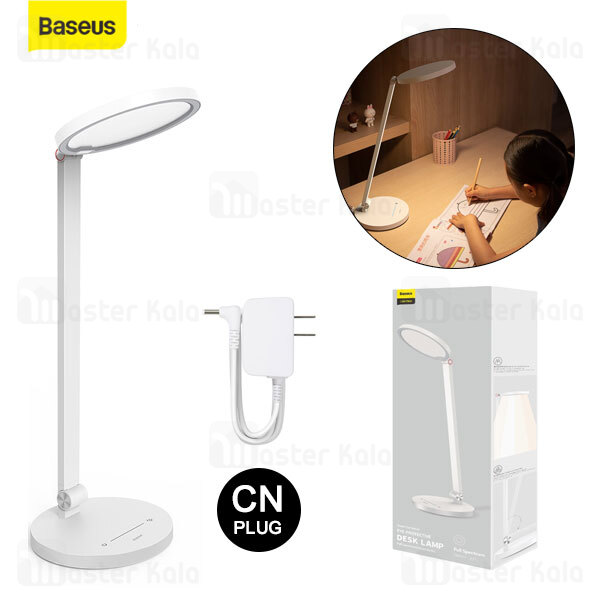 چراغ مطالعه رومیزی بیسوس Baseus Smart Eye Series Full Spectrum Eye-protective Desk Lamp DGHY-02