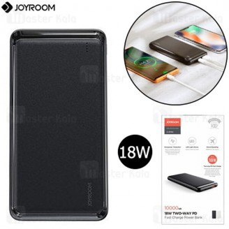 پاوربانک 10000 فست شارژ جویروم Joyroom D-QP182 PD 18W Flash Series Power Bank توان 18 وات
