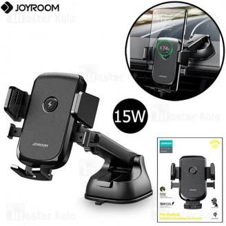 هولدر و شارژر وایرلس جویروم Joyroom JR-ZS213 Mechanical Wireless Charger توان 15 وات