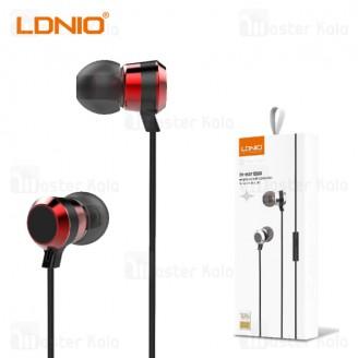 هندزفری سیمی الدینیو LDNIO HP02 In-Ear Wired Earphone Mic جک 3.5 میلی متری