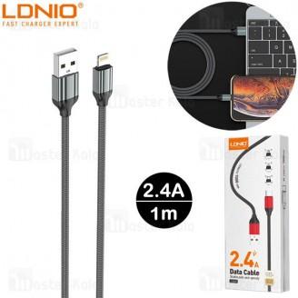 کابل لایتنینگ الدینیو LDNIO LS431 Cable طول 1 متر توان 2.4 آمپر