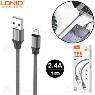 کابل لایتنینگ الدینیو LDNIO LS441 Cable طول 1 متر توان 2.4 آمپر