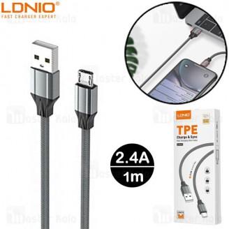 کابل میکرو یو اس بی الدینیو LDNIO LS441 Cable طول 1 متر توان 2.4 آمپر