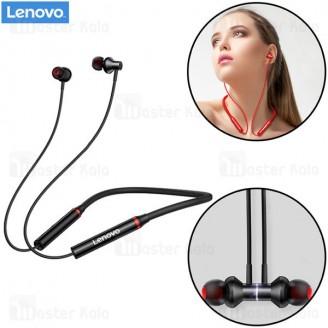 هندزفری بلوتوث لنوو Lenovo HE05x Hanging Wireless Bluetooth طراحی مگنتی