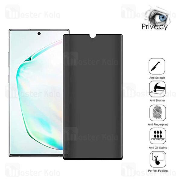 محافظ صفحه حریم شخصی نانو سرامیک تمام صفحه و تمام چسب Samsung Galaxy Note 20 Ultra Privacy