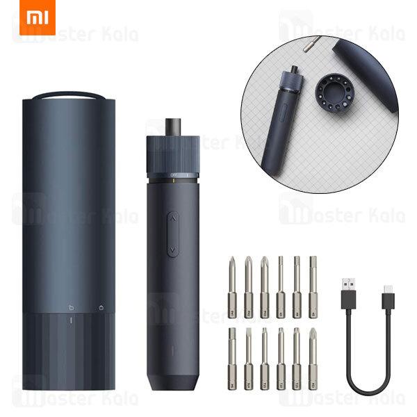 پیچ گوشتی شارژی شیائومی Xiaomi HOTO Electric Cordless Screwdriver QWLSD001 دارای 12 سری