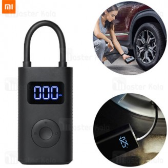 کمپرسور باد شیائومی Xiaomi Mi Portable Air Compressor MJCQ802QJ دارای چراغ LED نسخه گلوبال