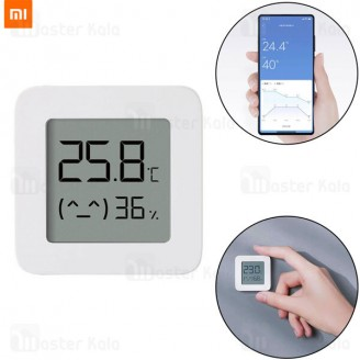 دماسنج و رطوبت سنج شیائومی Xiaomi Mi Temperature and Humidity Monitor 2 LYWSD03MMC