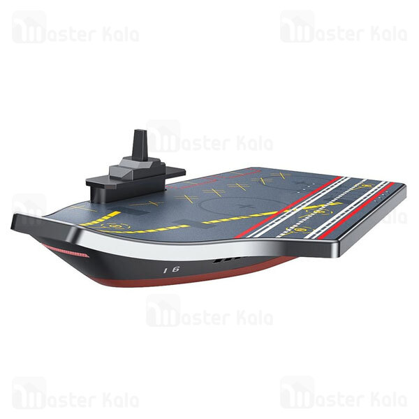 شارژر وایرلس بیسوس Baseus Liaoning 2 in 1 Wireless Charger WXLNJ-0S توان 20 وات همراه شارژر دیواری