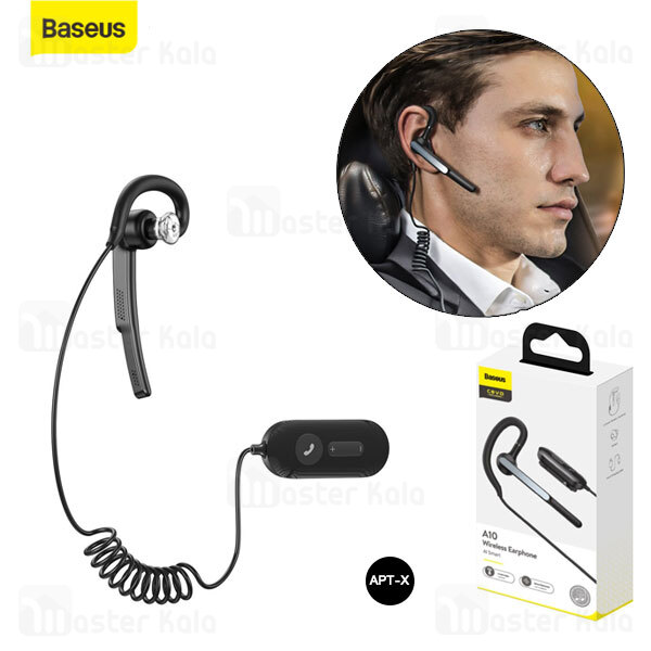 هدست بلوتوث تک گوش بیسوس Baseus A10 COVO AI Smart Wireless Earphones NGA10-A01