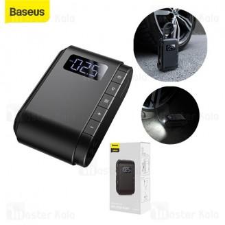 کمپرسور باد بیسوس Baseus Dynamic Eye Inflator Pump CRCQB03-01 دارای چراغ LED