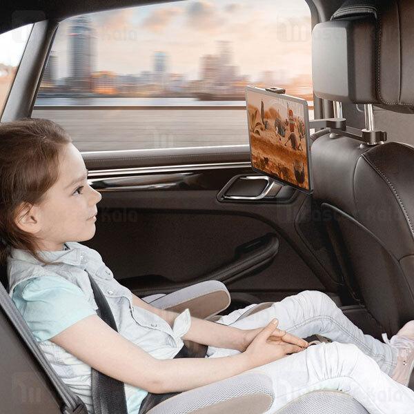 هولدر و پایه نگهدارنده موبایل صندلی عقب بیسوس Baseus Fun Journey Backseat Lazy Bracket SULR-A01