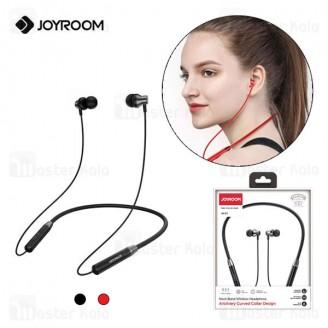 هندزفری بلوتوث جویروم Joyroom Neck-Band Wireless Bluetooth Headphone JR-D7 طراحی مگنتی و ضد آب