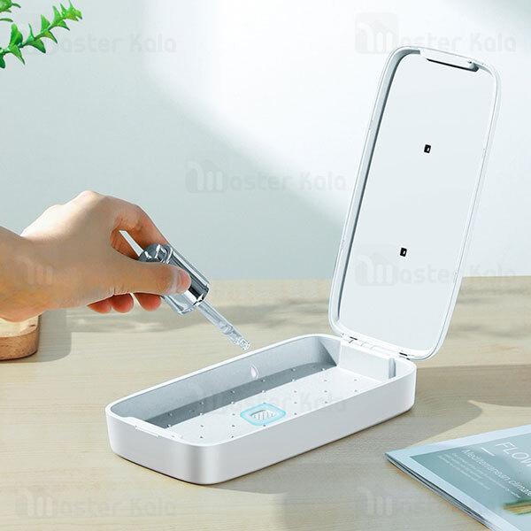 دستگاه ضد عفونی کننده یو وی و شارژر وایرلس جویروم Joyroom UVC-WP-Box Sterilizer 10W Wireless