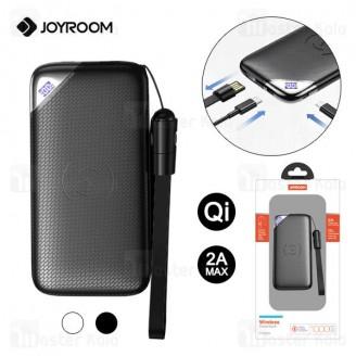 پاوربانک وایرلس 10000 جویروم Joyroom D-M224 Wise Series Wireless Power Bank 2A توان 2 آمپر