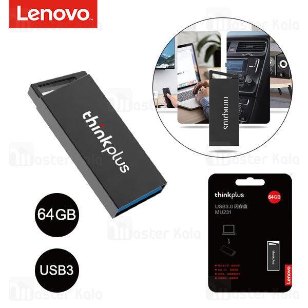 فلش مموری 64 گیگابایت لنوو Lenovo Thinkplus MU231 USB 3.0 U-Disk 64GB