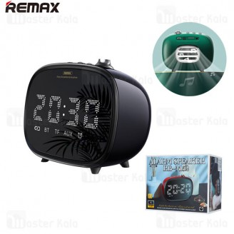 اسپیکر بلوتوث Remax RB-M52 2in1 Wireless Hifi Speaker and Alarm Clock توان 3 وات