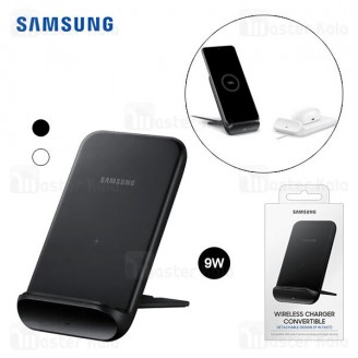 شارژر وایرلس سامسونگ Samsung Fast Wireless Charger Convertible EP-N3300TBEGGB 9W توان 9 وات