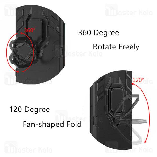 گارد ضد ضربه انگشتی شیائومی Xiaomi Poco X3 / Poco X3 NFC / Poco X3 Pro KEYSION ShockProof Armor Ring