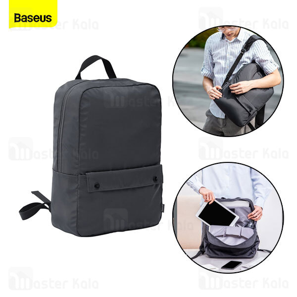 کوله بیسوس Baseus Basics Series 13 Laptop Backpack LBJN-E0G مناسب برای لپ تاپ 13 اینچ