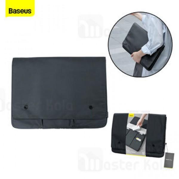 کیف لپ تاپ بیسوس Baseus Basics Series 16 Laptop Sleeve LBJN-B0G سایز 16 اینچ