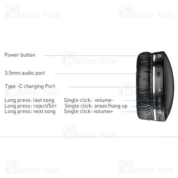 هدفون بلوتوث بیسوس Baseus D02 Pro Encok Wireless Headphone NGD02-C01