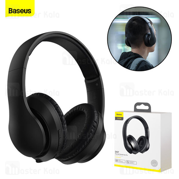 هدفون بلوتوث بیسوس Baseus D07 Encok Wireless Headphone NGD07-01