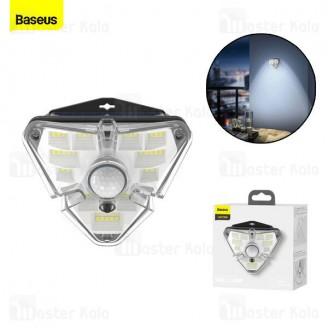 چراغ دیواری بیسوس Baseus Energy Collection Series Solar Body Sensor Wall Lamp DGNEN-A01 سنسور حرکت