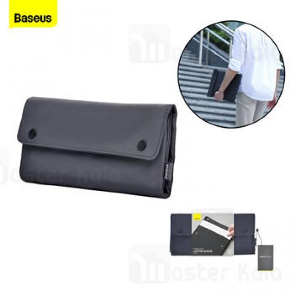 کیف لپ تاپ بیسوس Baseus Folding Series 16 Laptop Sleeve LBZD-B0G سایز 16 اینچ