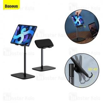 هولدر و پایه نگهدارنده تلسکوپی بیسوس Baseus Indoorsy Youth Tablet Desk Stand SUZJ-01 مناسب تبلت