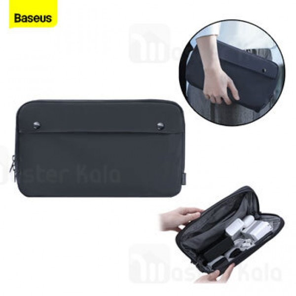 کیف لوازم جانبی بیسوس Baseus Basics Series Digital Device Storage Bag (S) LBJN-D0G سایز کوچک