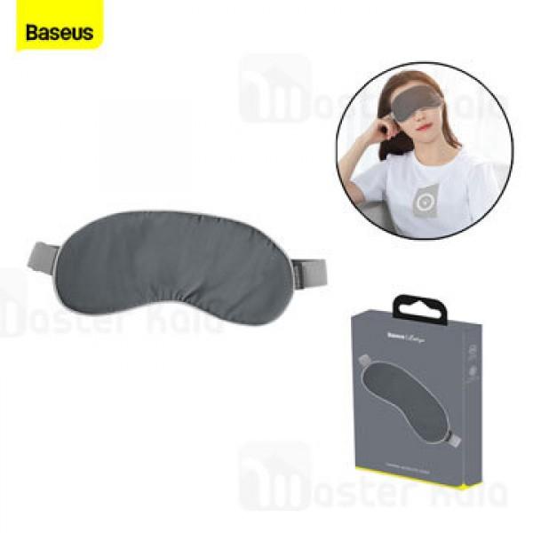 چشم بند و ماساژور چشم بیسوس Baseus Thermal Series Eye Cover FMYZ-0G همراه با پدهای حرارتی