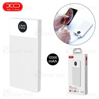 پاوربانک 12000 ایکس او XO PB93 Digital Display Power Bank توان 2 آمپر