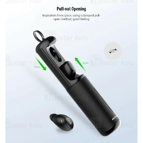 هندزفری بلوتوث دو تایی اوی Awei T5 Tws Wireless Earphone همراه داک شارژ