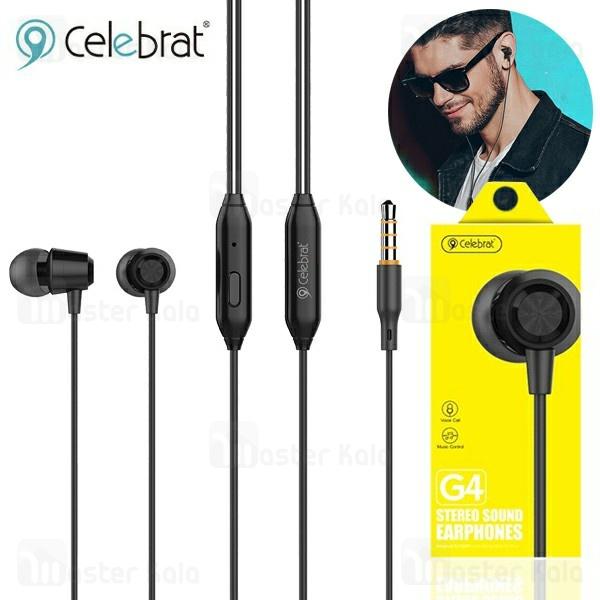 هندزفری سیمی وایسون YISON Celebrat G4 IN-EAR Wired Earphone