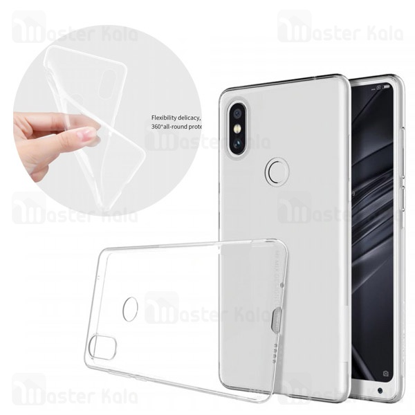 قاب ژله ای شیائومی Xiaomi Mi Mix 2s COCO Clear Jelly Case