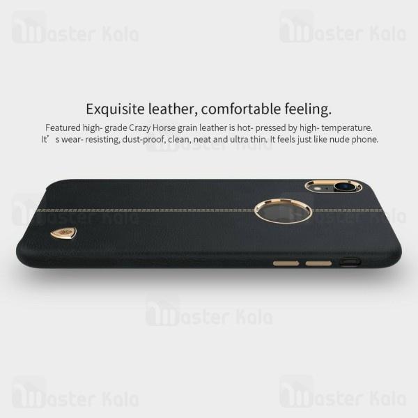 قاب محافظ چرمی نیلکین آیفون Apple iPhone XR Nillkin Englon Leather