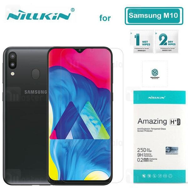 محافظ صفحه شیشه ای نیلکین سامسونگ Samsung Galaxy M20 Nillkin H+ Pro