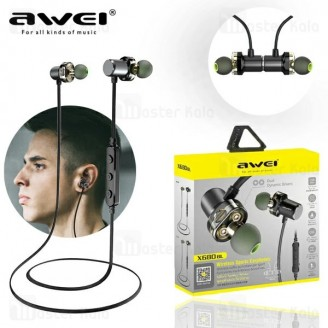 هندزفری بلوتوث اوی Awei X680BL Stereo Earphones گردنی و مگنتی