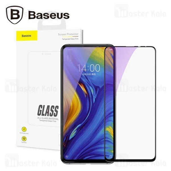 محافظ صفحه شیشه ای تمام صفحه و ضد اشعه بیسوس شیائومی Xiaomi Mi Mix 3 Baseus SGMIMIX3-KD01