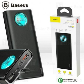 پاوربانک 20000 فست شارژ بیسوس Baseus Mulight PD And Quick Charge3.0 PPALL-LG01 سه پورت