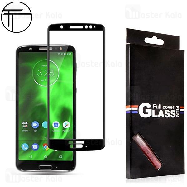محافظ صفحه شیشه ای تمام صفحه تمام چسب TT موتورولا Motorola Moto G6