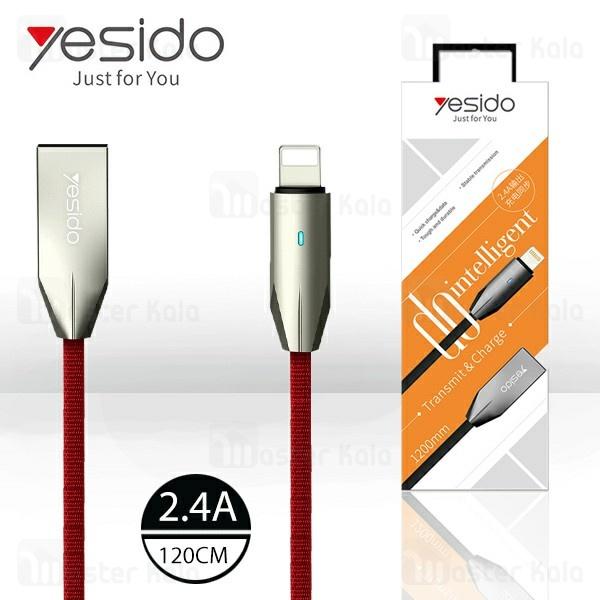کابل لایتنینگ یسیدو Yesido CA-23 Cable توان 2.4 آمپر و طول 1.2 متر