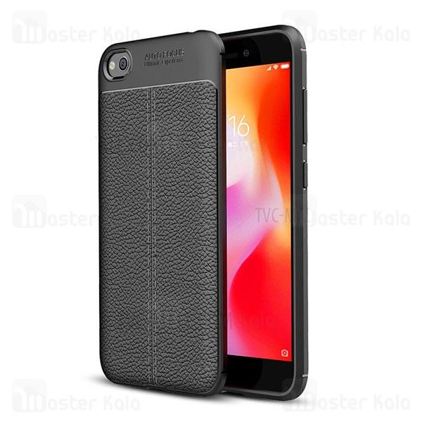 قاب محافظ ژله ای طرح چرم شیائومی Xiaomi Redmi Go Auto Focus