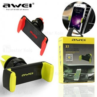 پایه نگهدارنده و هولدر موبایل اوی Awei X1 Vent Car Holder