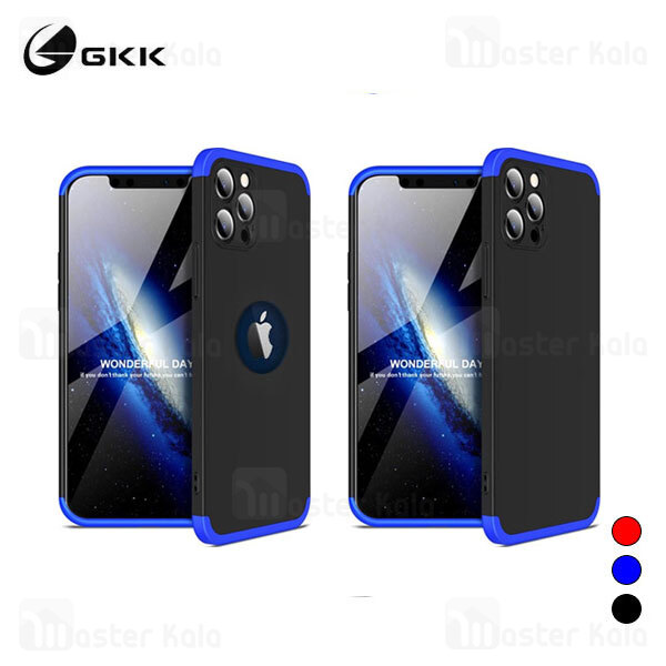 قاب 360 درجه GKK آیفون Apple iPhone 12 Pro GKK 360 Full Case