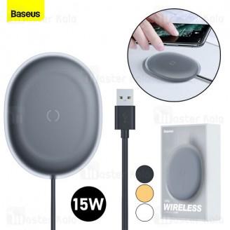 شارژر وایرلس بیسوس Baseus Jelly WXGD-01 Wireless Charger 15W توان 15 وات همراه با کابل