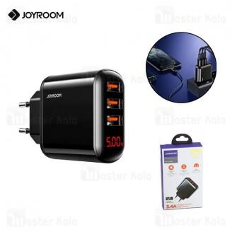 شارژر دیواری فست شارژ جویروم Joyroom HKL-USB59 Sharp Series توان 3.4 امپر دارای قطع کن خودکار