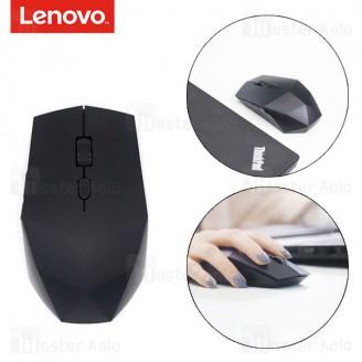 موس وایرلس سایلنت لنوو Lenovo Black Diamond 2 Wireless Mute Mouse دارای 6 کلید
