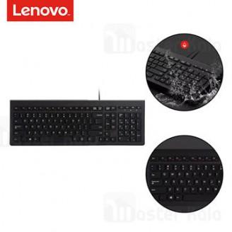کیبورد سیمی لنوو Lenovo M120K Wired Ultra-thin chocolate Keyboard ضد آب